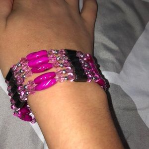Jewelry - Beaded magnetic bracelet/anklet/ necklace